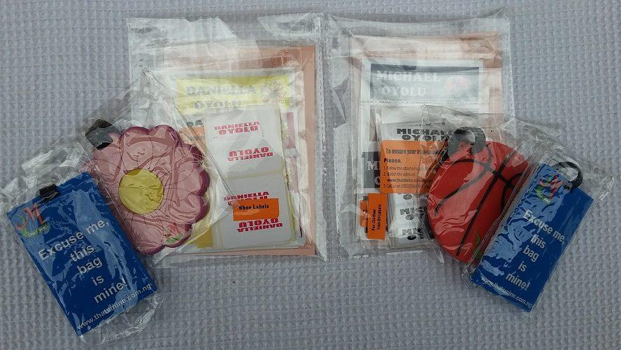 Starter pack of labels